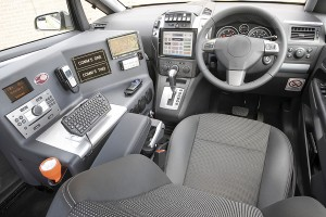 Ambulance-communication-console-interior